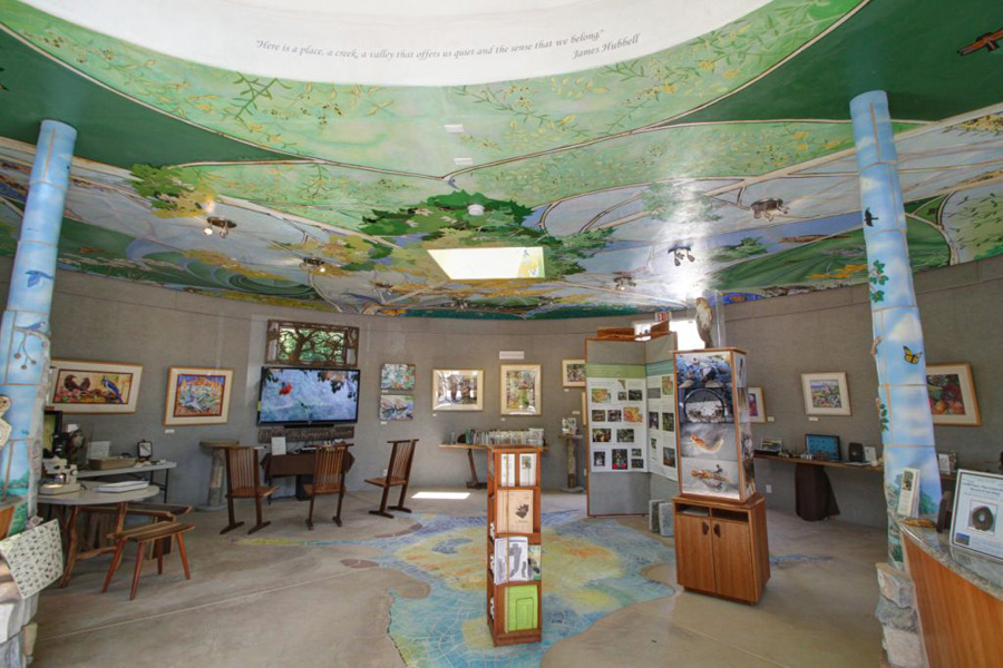 Interpretive Center Interior. Photo by Jeff Anderson.