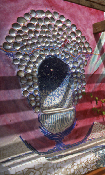Esperanza Pre-School. Shell Mosaic.