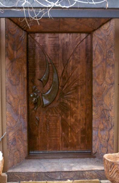 Door by James Hubbell.