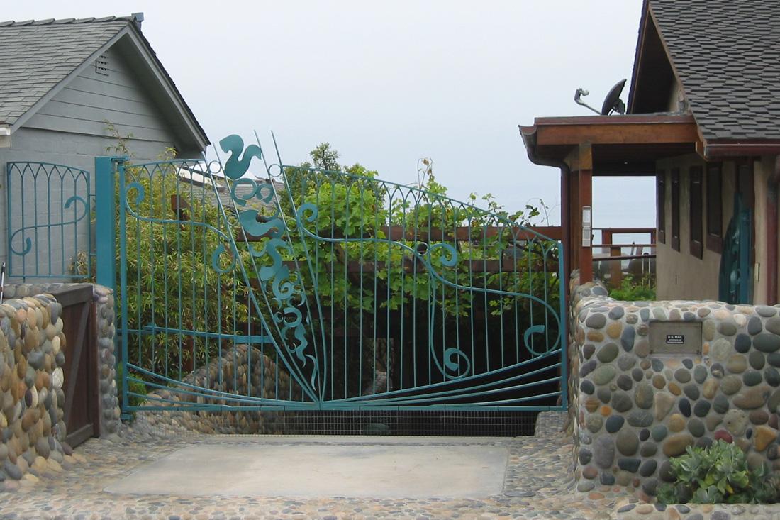 Custom Driveway Gate.