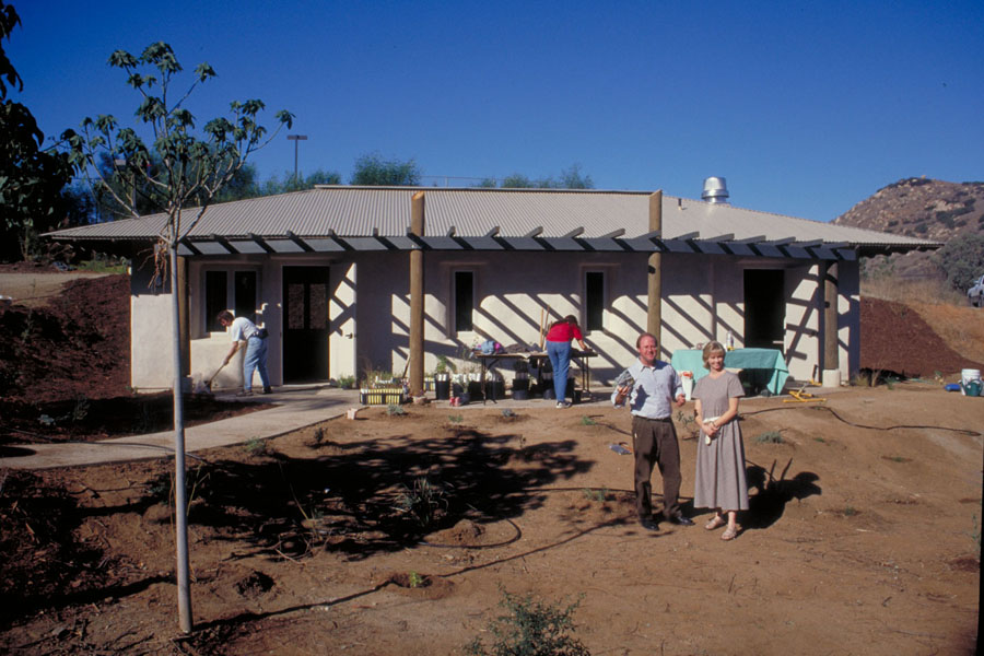 Wild Animal Park Seed Bank under construction. Photo by Drew Hubbell.