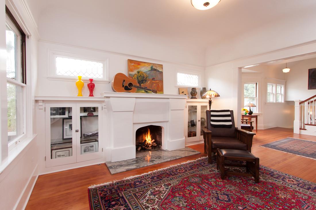 Refurbished Living Room. Photo by Robert Bruni.