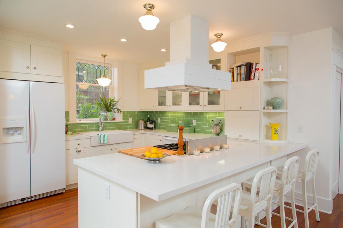 New Kitchen. Photo by Robert Bruni.