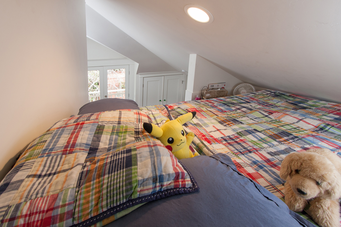 Bedroom. Photo by Robert Bruni.