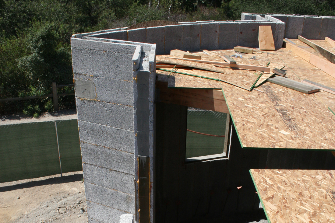 Concrete cavity of ICF.