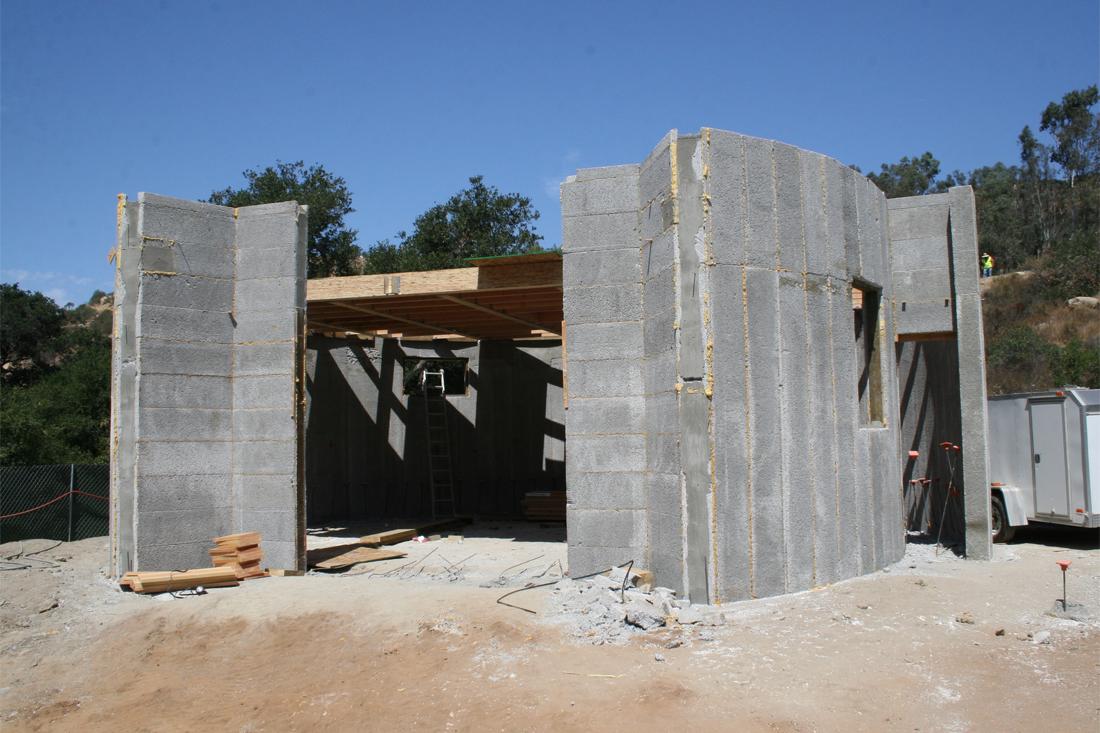ICF walls
