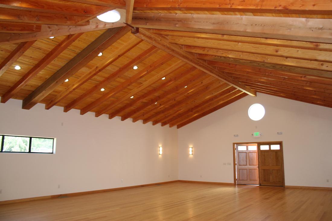 Main hall of Spiritual House.
